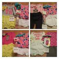 NEW baby and children's clothing