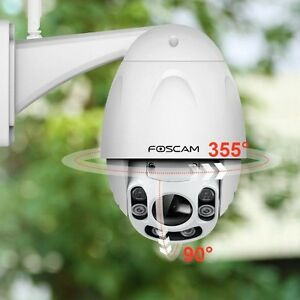 Foscam FI9928P Outdoor Wireless 2.0MP Pan-Tilt-Zoom IP Camera