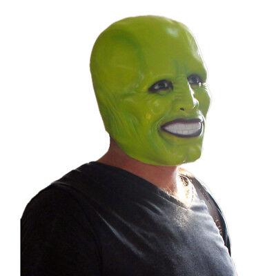 Stanley Ipkiss Grün die Maske Kostüm Jim Carrey Cosplay Film Requisit mit Kapuze ()