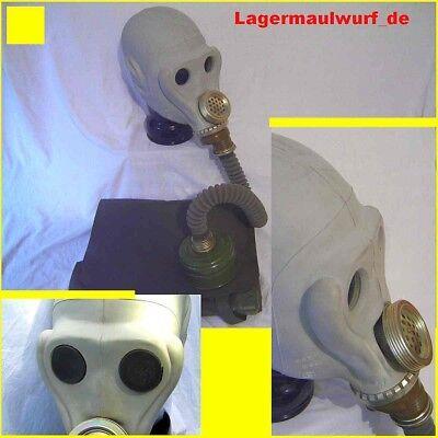 Gasmaske Halloween Latex Black Style Gummischlauch Poppers Dark Room Filter