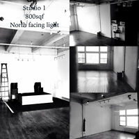 2photo/artist studios for rent by day or hour