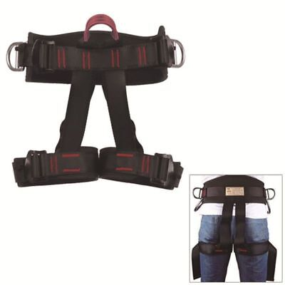 Safety Rock Tree Climbing Rappelling Harness Seat Sitting Bust Belt Equipment US