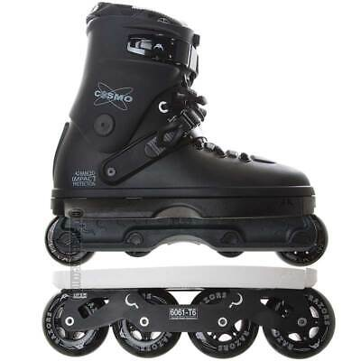 Razors Cosmo Shift Combo Aggressive Fitness Inline Skates Mens 10.5 Black NEW
