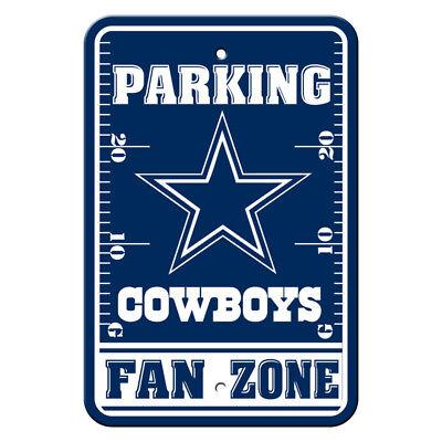 NFL Dallas Cowboys Home Room Office Bar Decor Parking Sign Fan Zone 12