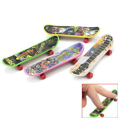 4pcs Mini Skate Finger Board Skateboards Miniature Toy Children Kids' Gift