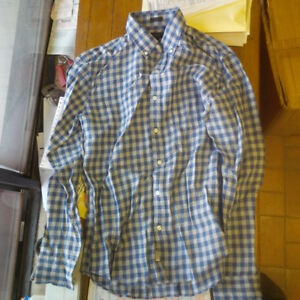 Brand New J Crew Long Sleeve Gingham Shirts with tags