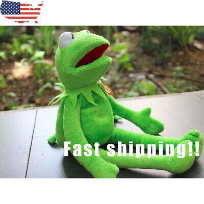 16 hot Eden Full Body Kermit the Frog Hand Puppet Memes Plush Toy soft New US - Frog Toys
