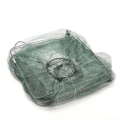 Crab Fish Crawdad Shrimp Minnow Fishing Bait Trap Cast Dip Net Cage Chic ff