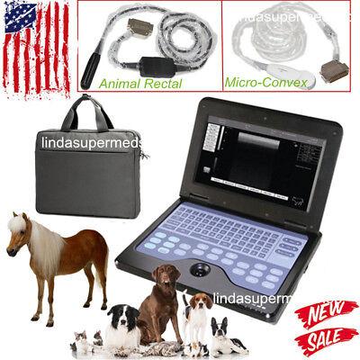 Veterinary Ultrasound Scanner Vet Machine Cowhorsedogsheep2probe Usa Vet Use