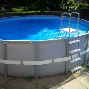 No longer available! 18'x52' Above Ground Salt Water Pool