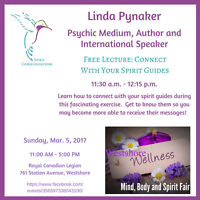 MindBodySpirit Fair Free Lecture Connect with Your Spirit Guides