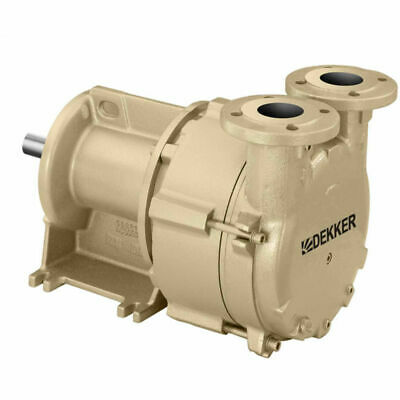 New Dekker Liquid Ring Vacuum Pump 20 Acfm 1.5hp