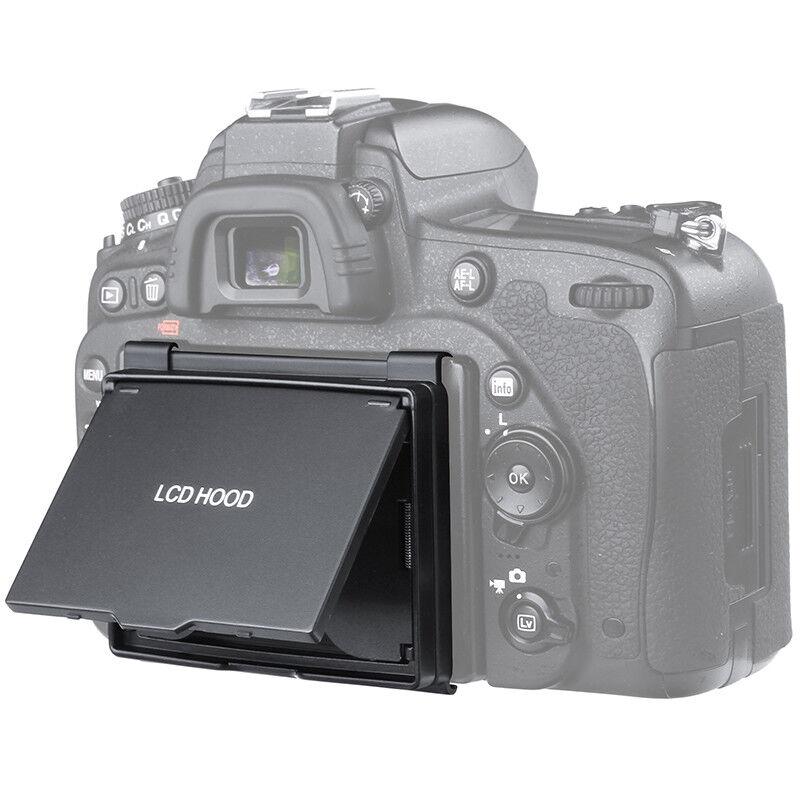LCD Screen Protector Pop-up Sun Shade Hood Cover Guard for Nikon D750 Camera
