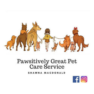 Pawsitively Great Pet Care Service