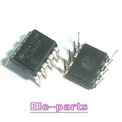 10 Pcs Tl082cp Dip-8 Tl082 Operational Amplifiers