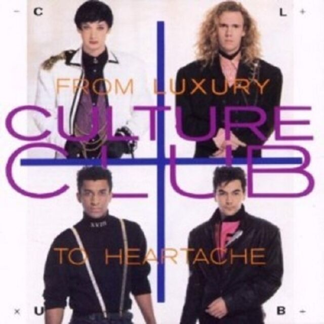 CULTURE CLUB - FROM LUXURY TO HEARTACHE  CD 12 TRACKS INTERNATIONAL POP NEU