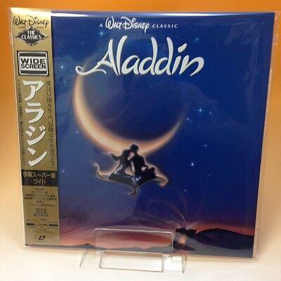 Aladdin (1992) Walt Disney LaserDisc LD Laser Disc PILA-1277 NTSC OBI Japan D024