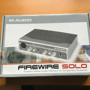 Interface FIreWire M-Audio Solo