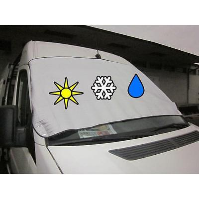 Auto VAN Alu Frontscheiben Abdeckung Windschutzscheiben Scheiben Sonnen Schutz