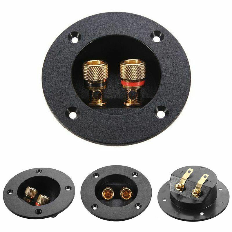 8pcs Vergoldete Lautsprecher Terminal Binding Post Verstärker Anschlussstecker