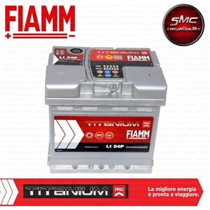 batteria avviamento auto fiamm 54ah 520a 12v fiat panda 169 natural power ebay. Black Bedroom Furniture Sets. Home Design Ideas