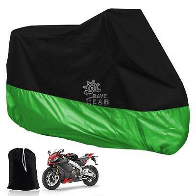 XXXL Green Motorcycle Cover For Harley Davidson Road King Custom FLHRS/EFI FLHRI