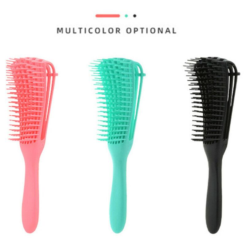 The EZ Detangling Brush Hair Styling Shower Massage Brush Co