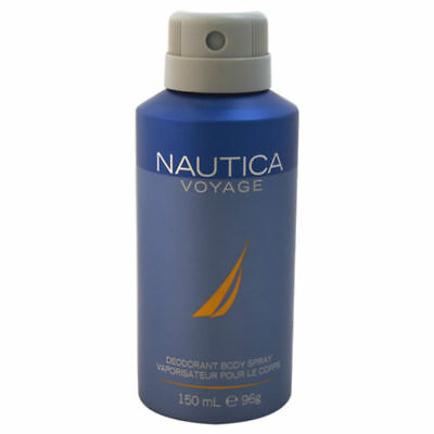 - Nautica Voyage Cologne for Men Deodorant Body Spray 150 ml - New in Can