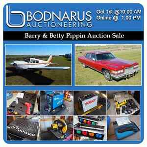 Barry & Betty Pippin Auction Sale