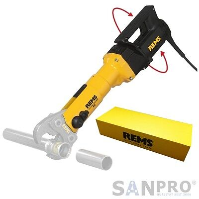 REMS Power Press SE- Presszange Radialpresse E Pressmaschine Presswerkzeug