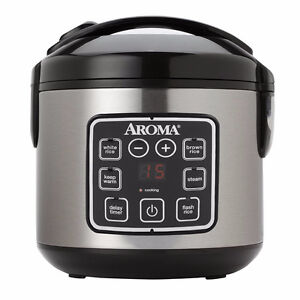 Brand New - Aroma Digital Rice Cooker and Food Steamer