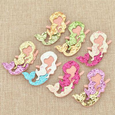 Cartoon-patch (Pailletten Glitter Meerjungfrau Aufnäher DIY Nähen Patches Cartoon Patch Mädchen)
