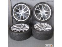 "19"" Staggered Veemann V-FS23 Alloy Wheels for an Audi A4, A3 MK2 MK3 VW Jetta, Golf MK5, MK6, MK7"