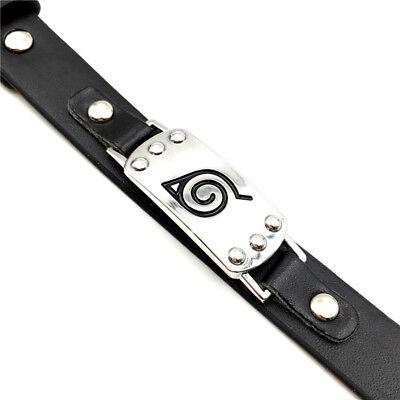 Naruto Armband mit Konoha Symbol Sasuke Hatake Kakashi Anime Manga Kostüm