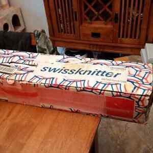 Swiss Knitter, Knitting Machine for Sale
