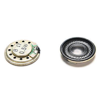 2pc 20mm 8Ohm 8Ω 0.5W Audio Speaker Stereo Woofer Loudspeaker Trumpet Horn 9O