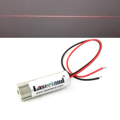 1239mm 650nm 5mw Red Line Focusable Laser Diode Module 3-5v 110 Glass Lens