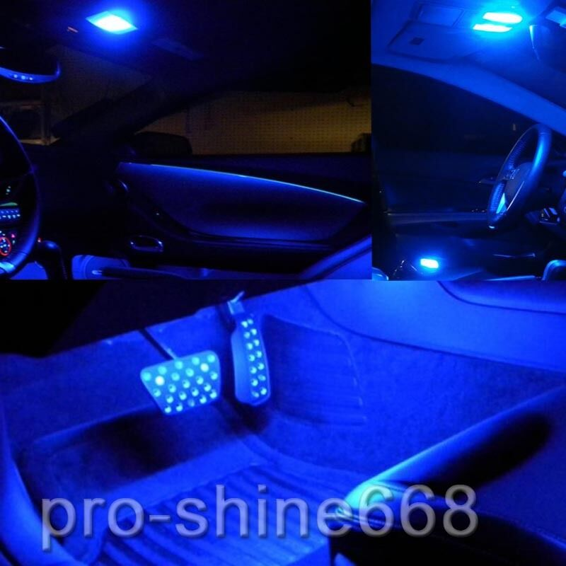 10000k blue interior led lights package bulb smd for 2009 2014 dodge ram 1500 ebay