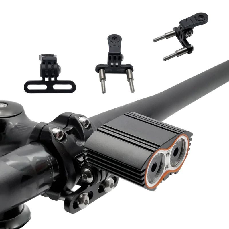 GoPro stabile Metall Halterung Fahrrad Lenker Vorbau universal ActionCam Lampe