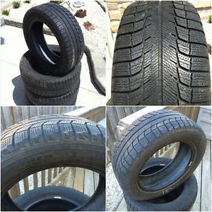 Used Michelin X-Ice Winter Tires - 205/55/16