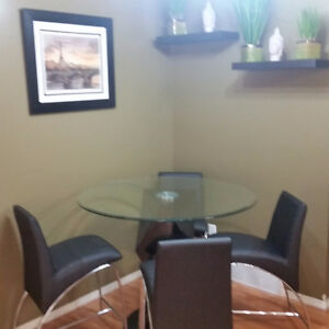 modern design kitchen table and chairs