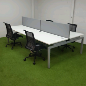 Bench Desking From £40 a Desk and screen