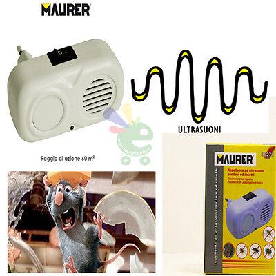 Ultrasuoni repellenti per insetti scaccia topi ratti allontana senza uccidere
