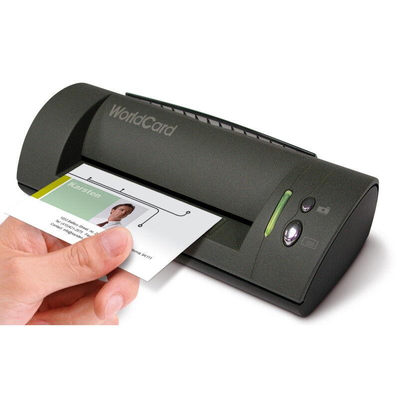 Details About Penpower Worldcardcolor Color Business Card Scanner Windows Name Card Management