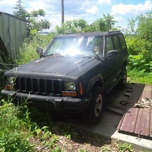 cherokee xj 2001 part out