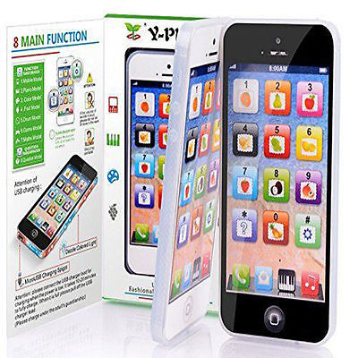 Kids Child Simulator Music Cell Phone Touch Screen Educational Learning Toy Gift