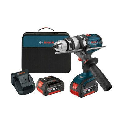 Bosch 18v Li-ion 12 In. Brute Tough Hammer Drill Driver Kit Hdh181x-01-rt Recon