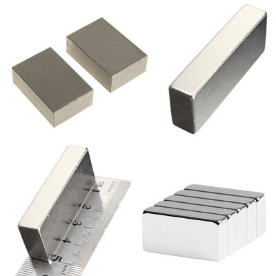 Wholesale Super Block Magnets All Big Size Rare Earth Neodymium N52 2 1 12