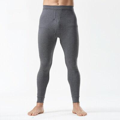 Layer Long Johns (Men Thermal Long Johns Trouser Warm Underwear Cotton Bottom Base Layer Soft Cosy)