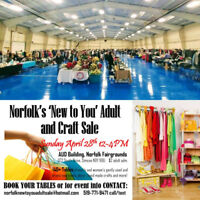 Norfolks New to You Spring Adult and Craft Sale